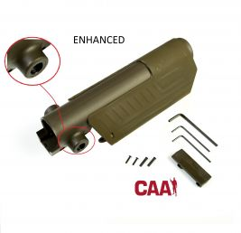 AR/AK Enhanced Pistol Cheek Rest Kit W/CAA Saddle (OD Green)
