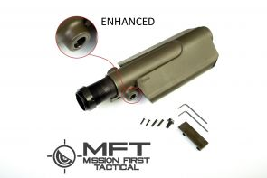 AR/AK Enhanced Pistol Cheek Rest Kit W/MFT Saddle (OD Green)