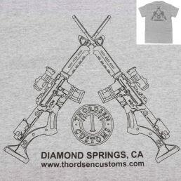FRS-15 Gen II Logo Grey T-Shirts